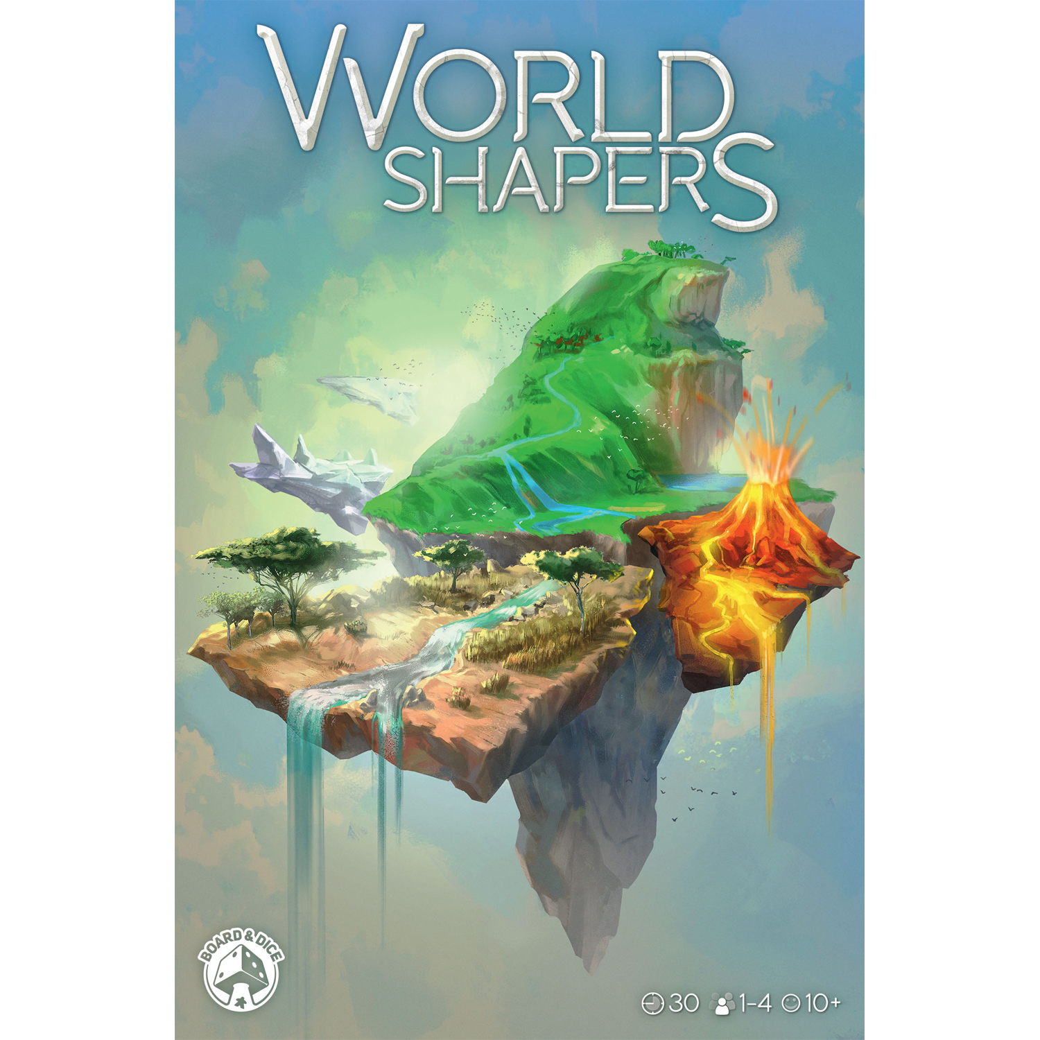 World Shapers -  Board And Dice