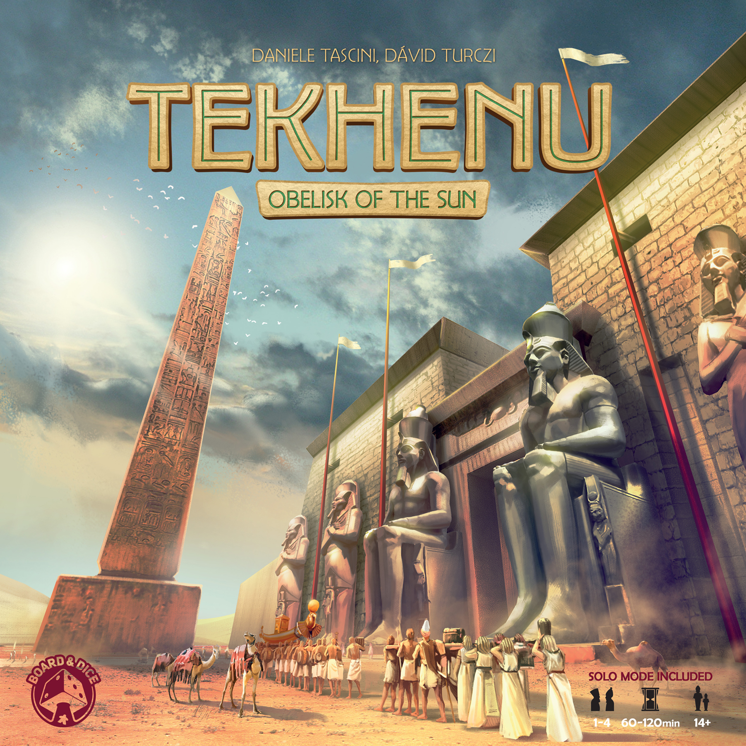Tekhenu: Obelisk of the Sun -  Board And Dice