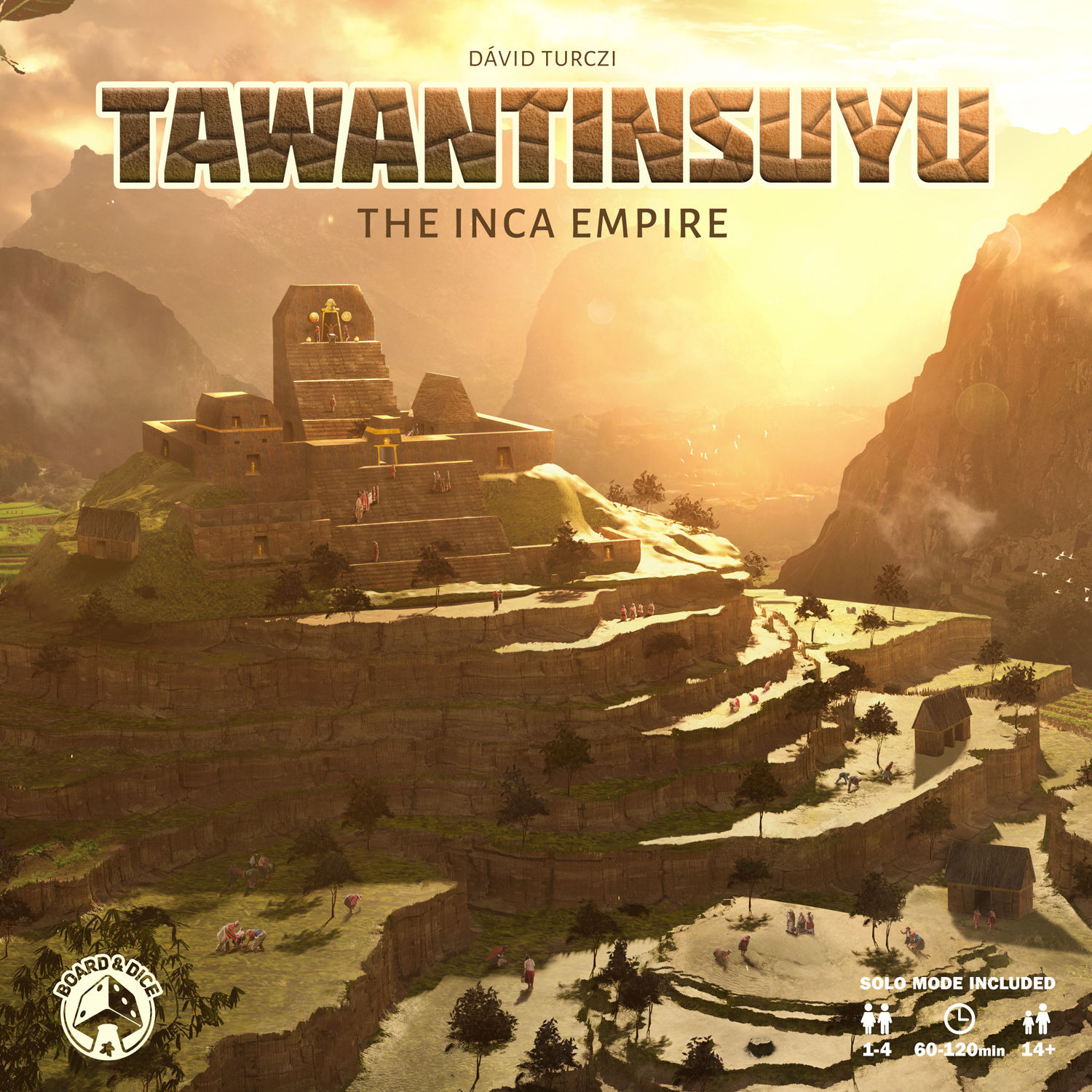 Tawantinsuyu: The Inca Empire (T.O.S.) -  Board And Dice